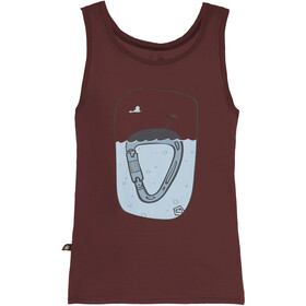 E9 Island Tank Top Men wine